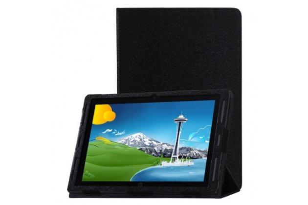 Фирменный чехол-футляр-книжка для  HP x2 210 ( G1/ L5G94EA / P5U17AA / T6T52PA) 10.1 черный кожаный