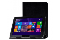 Фирменный чехол-футляр-книжка для HP ElitePad 1000 (G2) 10.1) черный кожаный
