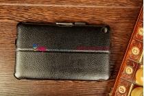 """Фирменный чехол для HP Slate 7 черный кожаный """"Deluxe"""""""