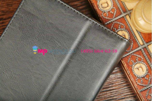 """Чехол-обложка для HP Slate 7 черный кожаный """"Prestige"""""""
