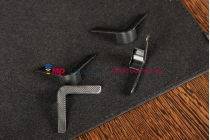 Чехол-обложка для HP Slate 8 Pro черный кожаный