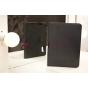 Фирменный чехол-обложка для HP ElitePad 900/900 3G (D4T10AW) черный кожаный
