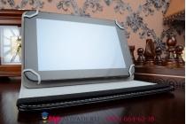 Чехол с вырезом под камеру для планшета HP 10 Plus роторный оборотный поворотный. цвет в ассортименте