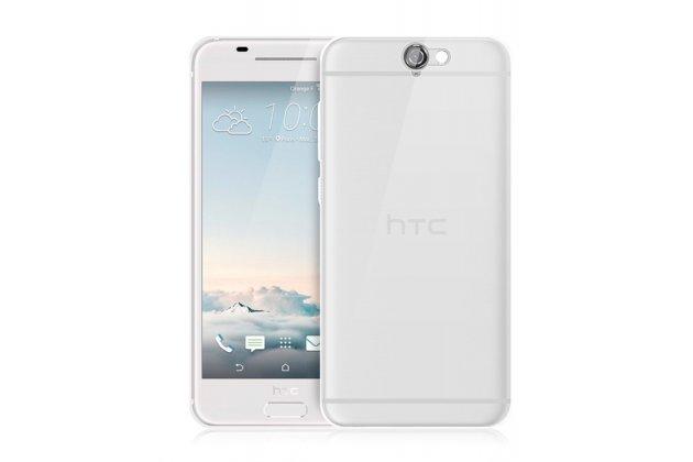 """Фирменная ультра-тонкая полимерная из мягкого качественного силикона задняя панель-чехол-накладка для HTC One A9/HTC Aero/HTC A9w 5.0"""" прозрачная"""