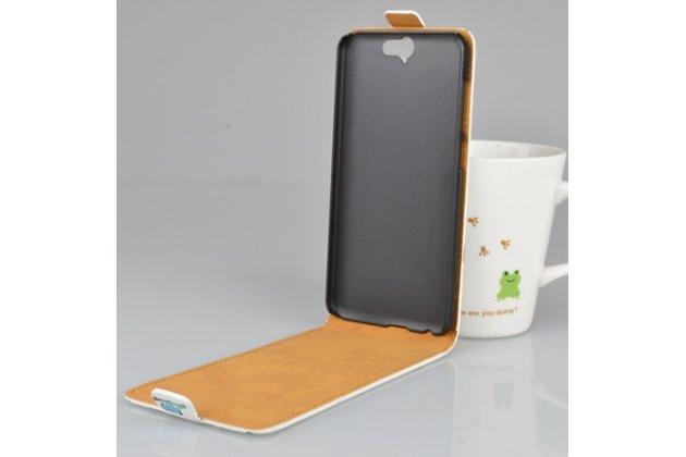 """Фирменный вертикальный откидной чехол-флип для  HTC One A9/HTC Aero/HTC A9w 5.0""""  """"тематика Сова"""""""