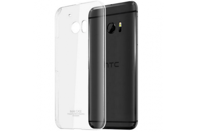 """Фирменная задняя панель-крышка-накладка из тончайшего и прочного пластика для HTC 10 / HTC One M10 / Lifestyle 10 5.2"""" прозрачная"""