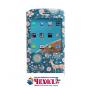 Фирменный чехол-книжка с безумно красивым расписным рисунком Оленя в цветах на HTC 10 / HTC One M10 / Lifestyl..