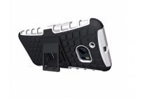 """Противоударный усиленный ударопрочный фирменный чехол-бампер-пенал для HTC 10 / HTC One M10 / Lifestyle 10 5.2"""" белый"""