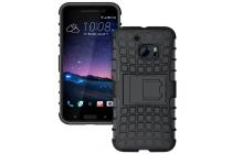 """Противоударный усиленный ударопрочный фирменный чехол-бампер-пенал для HTC 10 / HTC One M10 / Lifestyle 10 5.2"""" черный"""