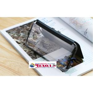 """Официальный оригинальный чехол книжка Ice View Case Book Flip Cover (IV C100) с логотипом  для HTC 10 / HTC One M10 / Lifestyle 10 5.2""""  и активной крышкой черного цвета"""