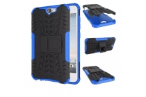 """Противоударный усиленный ударопрочный фирменный чехол-бампер-пенал для HTC One A9/HTC Aero/HTC A9w 5.0""""  синий"""