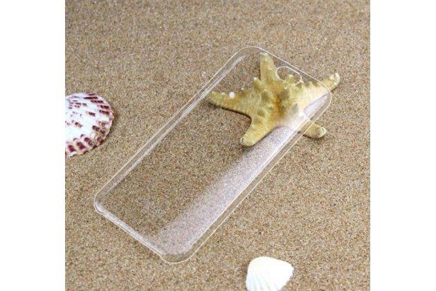 """Фирменная задняя панель-крышка-накладка из тончайшего и прочного пластика для HTC One A9/HTC Aero/HTC A9w 5.0"""" прозрачная"""