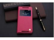 Фирменный оригинальный чехол-книжка на HTC Butterfly 2 5.0