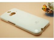 Фирменная задняя панель-крышка из тончайшего и прочного пластика для HTC Butterfly 2 белая..