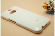 Фирменная задняя панель-крышка из тончайшего и прочного пластика для HTC Butterfly 2 белая