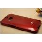 Фирменная задняя панель-крышка из тончайшего и прочного пластика для HTC Butterfly 2 красная..