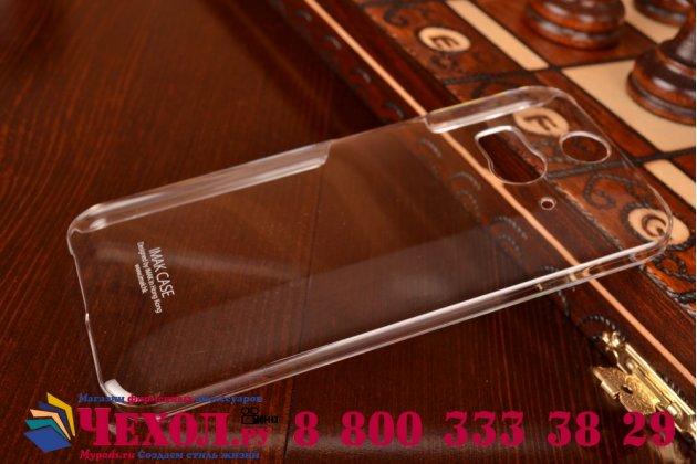 Фирменная ультра-тонкая полимерная мягкая задняя панель-чехол-накладка для ХТС Баттерфляй 2 прозрачная