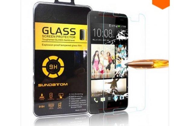 Фирменное защитное закалённое стекло премиум-класса из качественного японского материала с олеофобным покрытием для HTC Butterfly 2 B810X