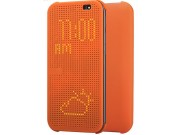 Чехол с мультяшной 2D графикой и функцией засыпания для HTC Butterfly 2 B810X в точечку с дырочками прорезинен..