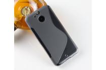 Фирменная ультра-тонкая полимерная из мягкого качественного силикона задняя панель-чехол-накладка для HTC Bolt/HTC Desire 10 серая