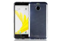 Фирменная ультра-тонкая полимерная из мягкого качественного силикона задняя панель-чехол-накладка для HTC Bolt/HTC Desire 10 прозрачная