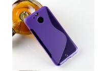 Фирменная ультра-тонкая полимерная из мягкого качественного силикона задняя панель-чехол-накладка для HTC Bolt/HTC Desire 10 фиолетовая