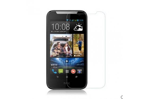 Фирменная оригинальная защитная пленка для телефона HTC Desire 310 глянцевая