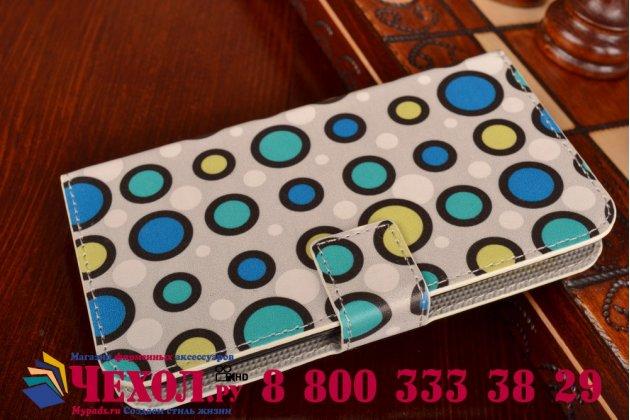 """Фирменный уникальный необычный чехол-книжка для HTC Desire 310 Dual Sim """"тематика Bubble Gum"""""""