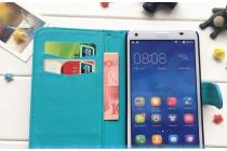 """Фирменный уникальный необычный чехол-книжка для HTC Desire 326G Dual Sim  """"тематика Эклектические узоры"""""""