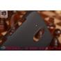 Фирменная задняя панель-крышка-накладка из тончайшего и прочного пластика для  HTC Desire 326G Dual Sim  черна..