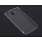 Фирменная задняя панель-крышка-накладка из тончайшего и прочного пластика для HTC Desire 326G Dual Sim прозрач..