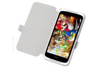 """Фирменный уникальный необычный чехол-книжка для HTC Desire 326G Dual Sim  """"тематика Корона в винтажном стиле"""""""