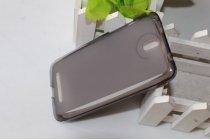 Фирменная задняя панель-крышка-накладка из тончайшего и прочного пластика для HTC Desire 501 Dual Sim черная