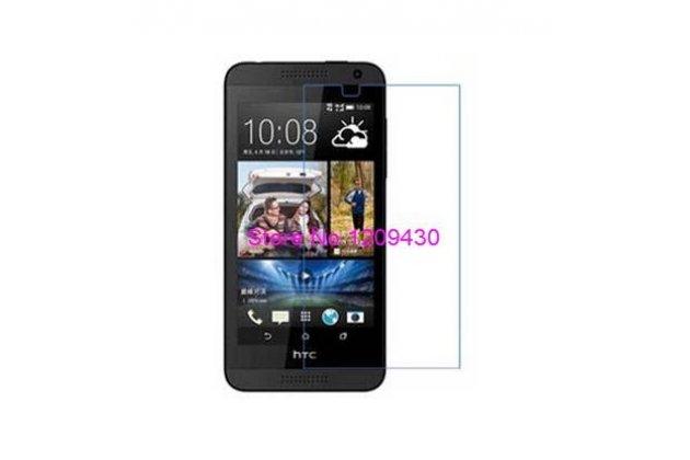Фирменная оригинальная защитная пленка для телефона HTC Desire 510 глянцевая