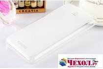 Фирменная ультра-тонкая полимерная из мягкого качественного силикона задняя панель-чехол-накладка для HTC Desire 510 белая