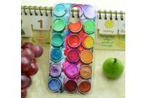 """Фирменная необычная из легчайшего и тончайшего пластика задняя панель-чехол-накладка для HTC Desire 526/ 526 Dual Sim/ 526 G+  """"тематика Краски"""""""