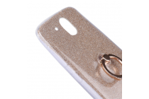 Фирменная ультра-тонкая полимерная из мягкого качественного силикона задняя панель-чехол-накладка для HTC Desire 526/ 526 Dual Sim/ 526 G золотая