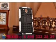 Противоударный усиленный ударопрочный фирменный чехол-бампер-пенал для HTC Desire 526/ 526 Dual Sim/ 526 G+ бе..
