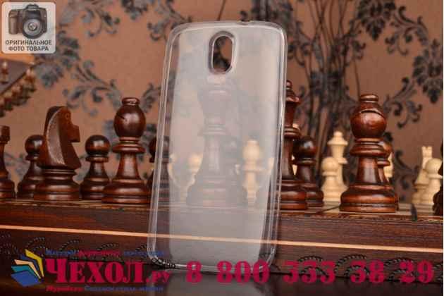 Фирменная ультра-тонкая полимерная из мягкого качественного силикона задняя панель-чехол-накладка для HTC Desire 526/ 526 Dual Sim/ 526 G+ прозрачная