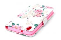 """Фирменный уникальный необычный чехол-книжка для HTC Desire 626 /626 G+ Dual Sim  """"тематика Розы"""""""