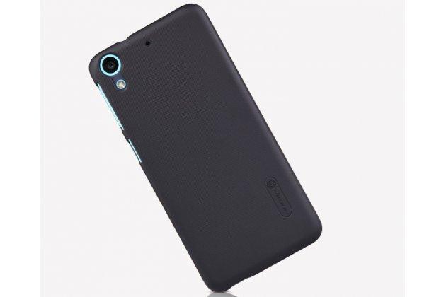 Фирменная задняя панель-крышка-накладка из тончайшего и прочного пластика для HTC Desire 626 /626 G+ Dual Sim черная