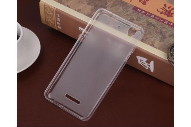 """Фирменная ультра-тонкая силиконовая задняя панель-чехол-накладка для HTC Desire 628/ 628 dual sim 5.0"""" белая"""