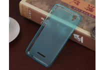 """Фирменная ультра-тонкая силиконовая задняя панель-чехол-накладка для HTC Desire 628/ 628 dual sim 5.0"""" голубая"""