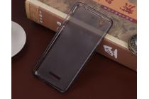 """Фирменная ультра-тонкая силиконовая задняя панель-чехол-накладка для HTC Desire 628/ 628 dual sim 5.0"""" серая"""