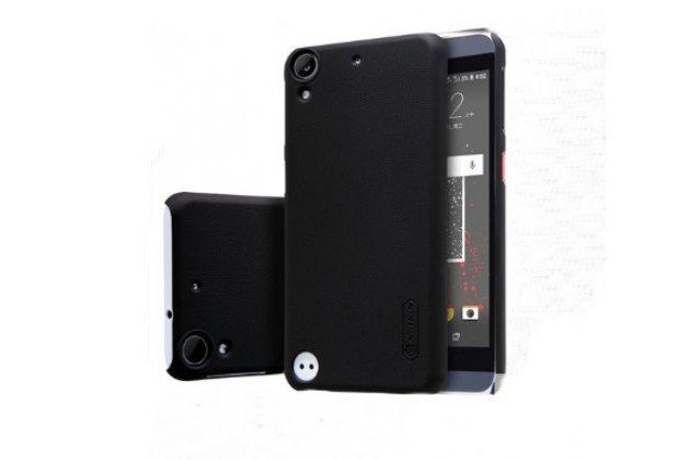 """Фирменная задняя панель-крышка-накладка из тончайшего и прочного пластика для HTC Desire 530 / Desire 630 Dual SIm ( LTE 4G / 530U / EEA) 5.0"""" черная"""