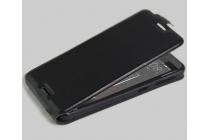"""Фирменный вертикальный откидной чехол-флип для HTC Desire 530 / Desire 630 Dual SIm ( LTE 4G / 530U / EEA) 5.0"""" черный"""