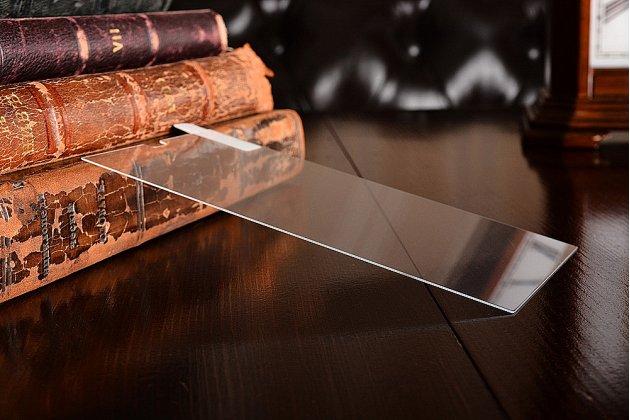 Фирменное защитное закалённое противоударное стекло премиум-класса для телефона HTC Desire 650 из качественного японского материала с олеофобным покрытием