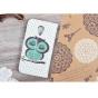Фирменный уникальный необычный чехол-книжка для HTC Desire 700 Dual Sim