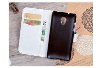 """Фирменный уникальный необычный чехол-книжка для HTC Desire 700 Dual Sim """"тематика Сова"""""""