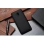 Фирменная задняя панель-крышка-накладка из тончайшего и прочного пластика для HTC Desire 700 Dual Sim черная..